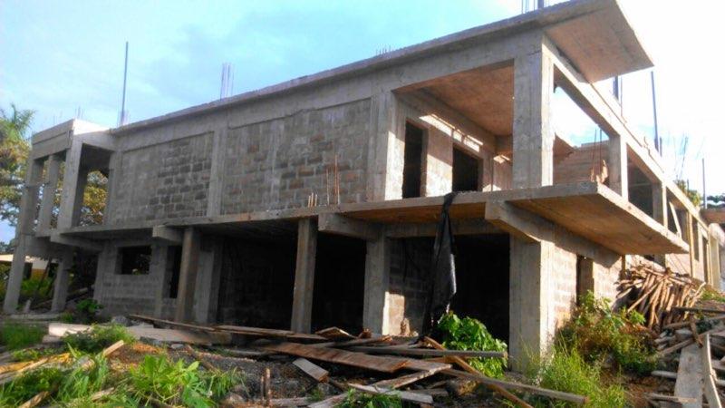 Oct 2015 - Undercellar, verandah and second classroom