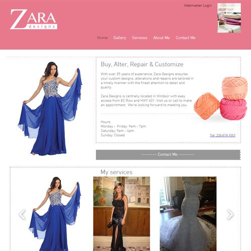 Zara Designs Website.png