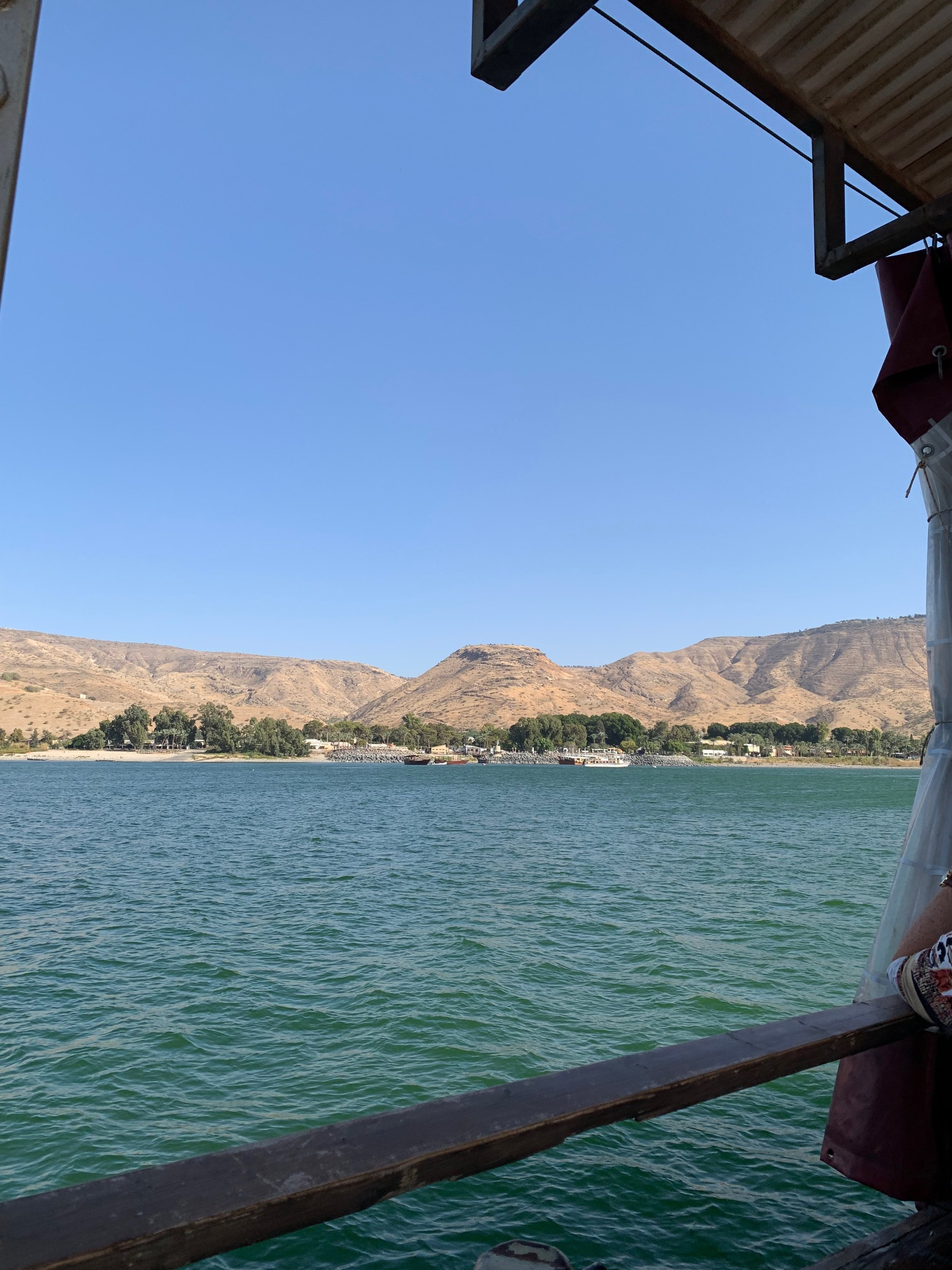 Explore the Galilean hills…