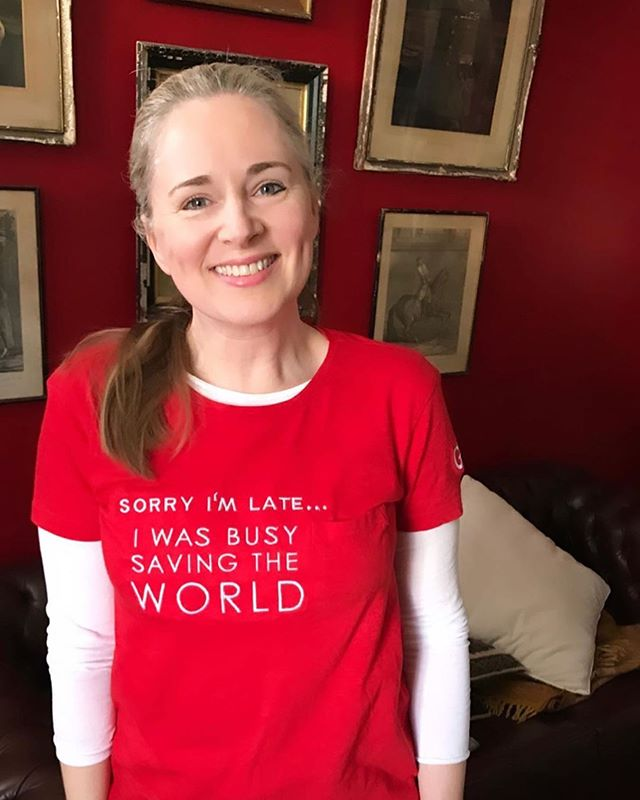 Repost via the wonderful @mrspress 👉🏾 That's my excuse anyway... ❤️ Just me in my @fash4freedom x @globalfashionexchange Tshirt. They're part of my dear mate @mrpatrickduffy 's ethical fashion upcycling project - 2nd hand tees sourced from @salvosstores @thecanvasny & @goodwillnynj & embroidered in Vietnam ❤️ (Check our #wardrobecrisispodcast for some incredible insight into what we can do better and help people and planet via our fashion choices!)