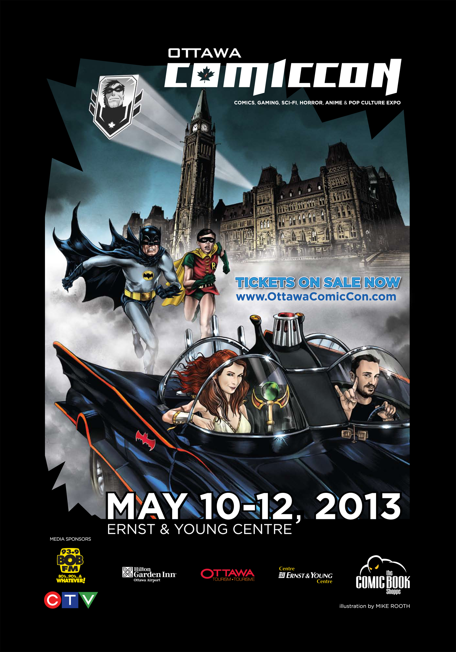 Poster for 2013 Ottawa ComicCon