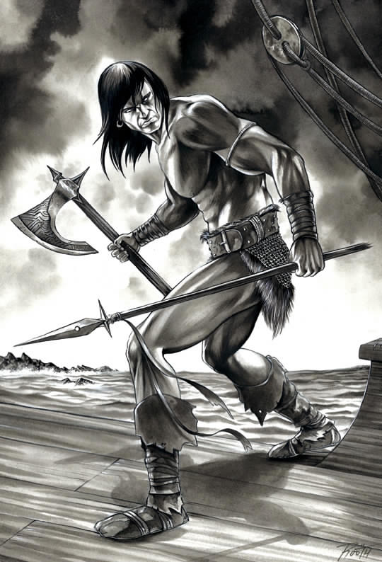 Conan (DarkHorse cover contest submission), 2013