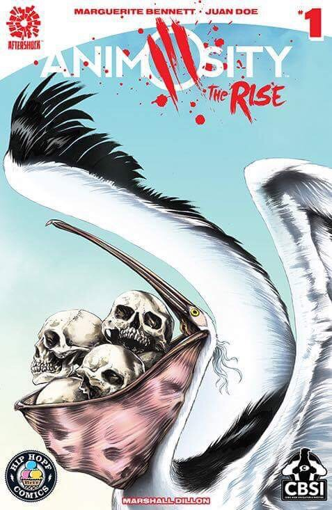 Animosity THE RISE #1 variant cover, Aftershock Comics