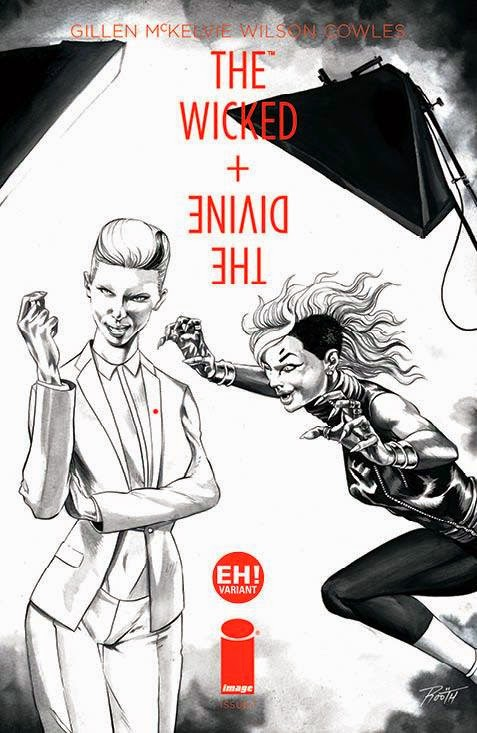 The Wicked + The Divine #1 'EH!' variant, Image Comics