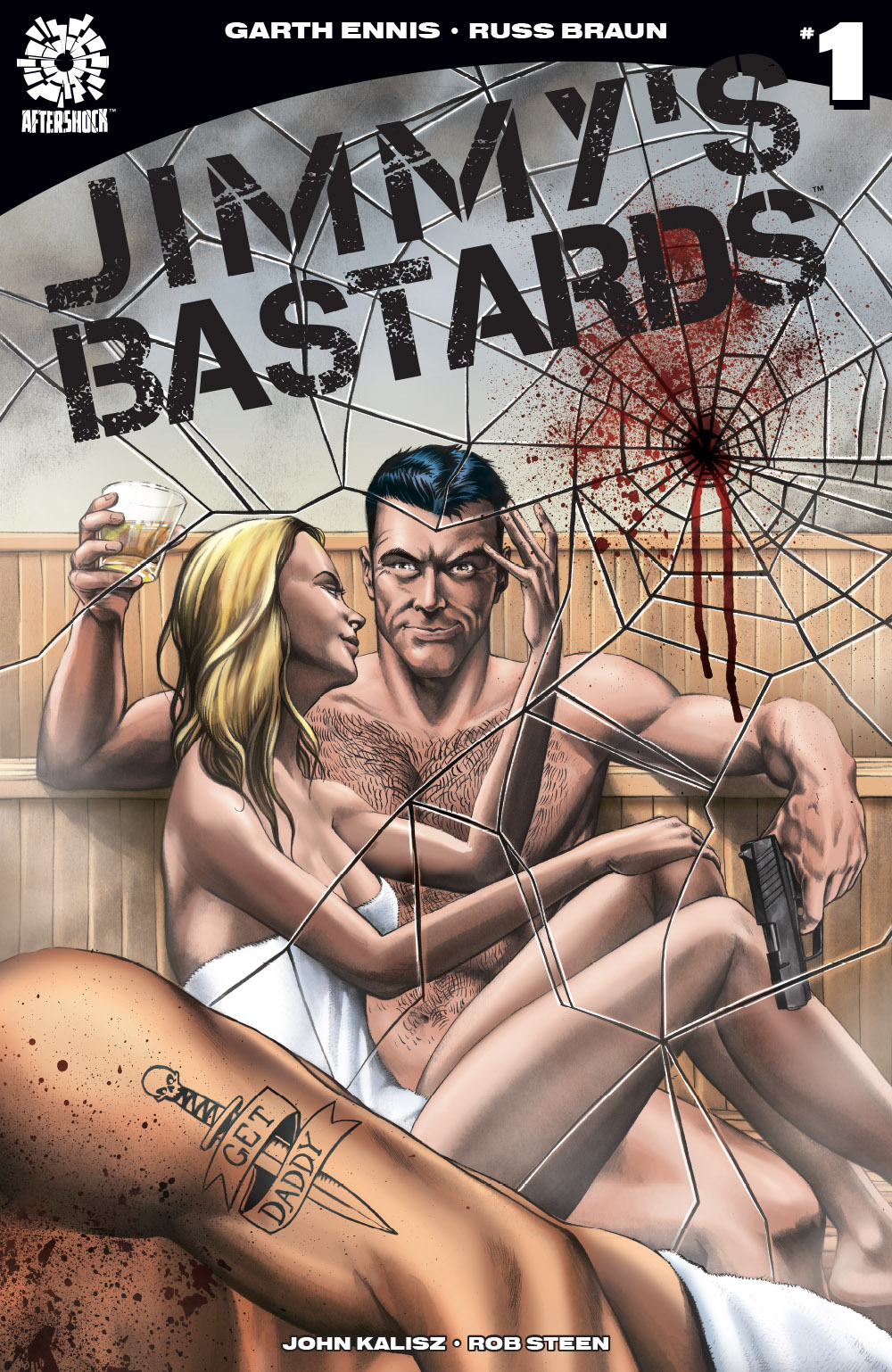 Jimmy's Bastards variant cover, Aftershock Comics
