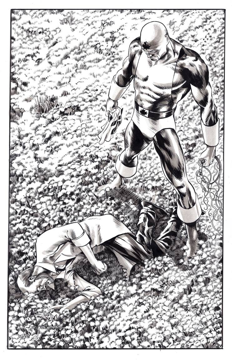 Captain Canuck Archives, vol. 2, page 5