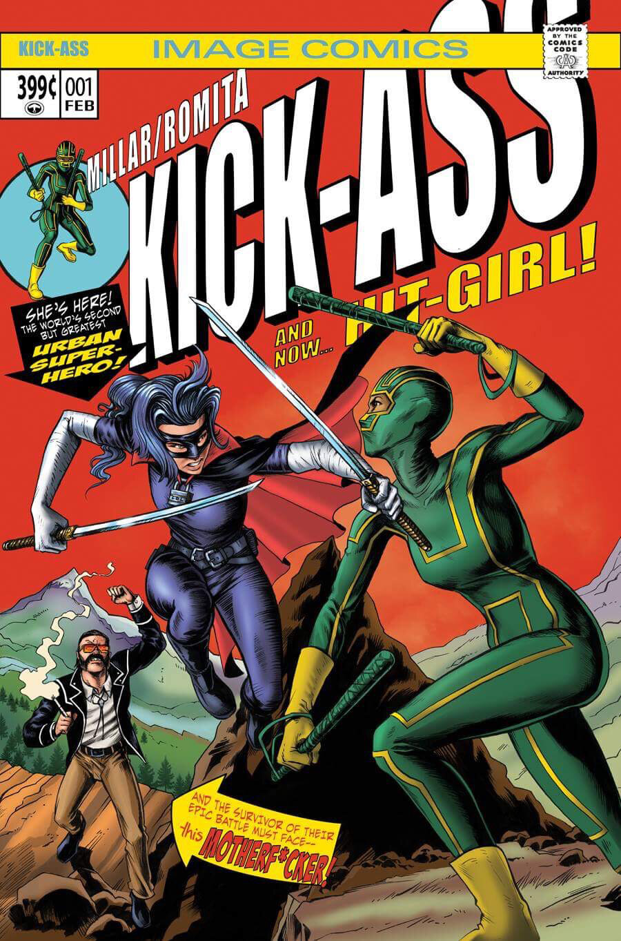 Kick-Ass #1 variant, Image Comics