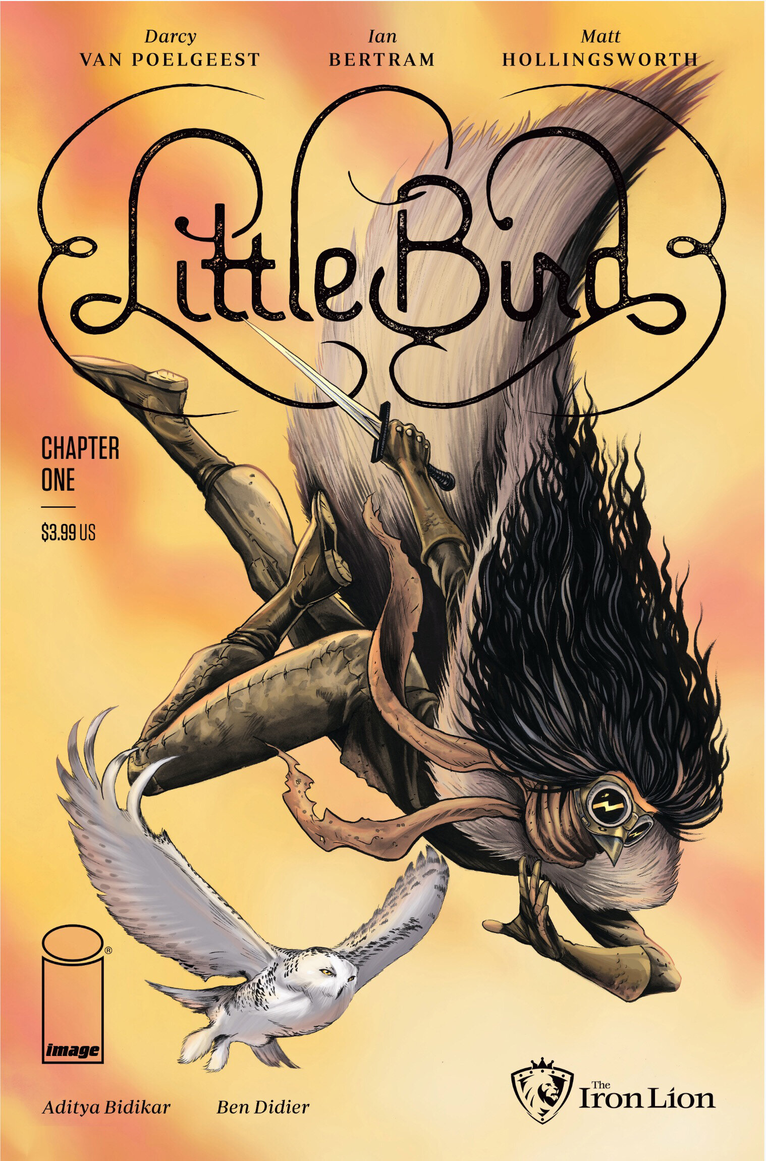 Little Bird #1 variant, Image Comics