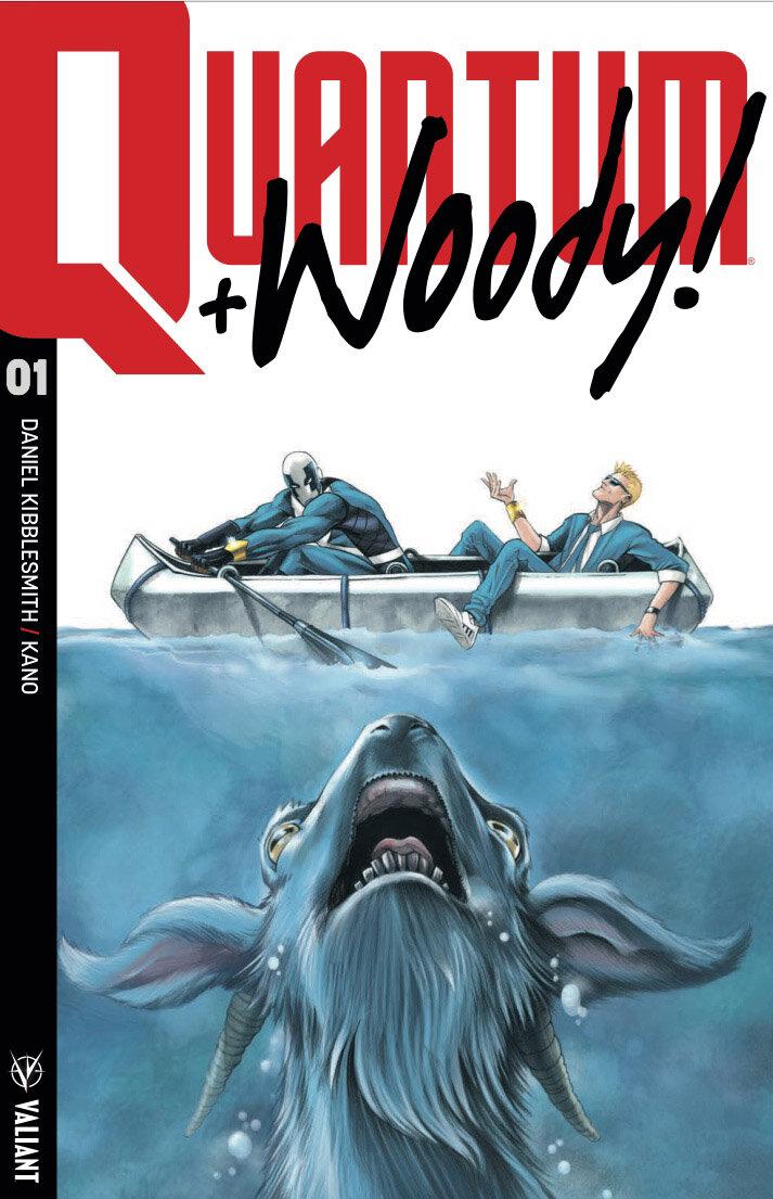 Quantum + Woody #1 variant, Valiant Comics