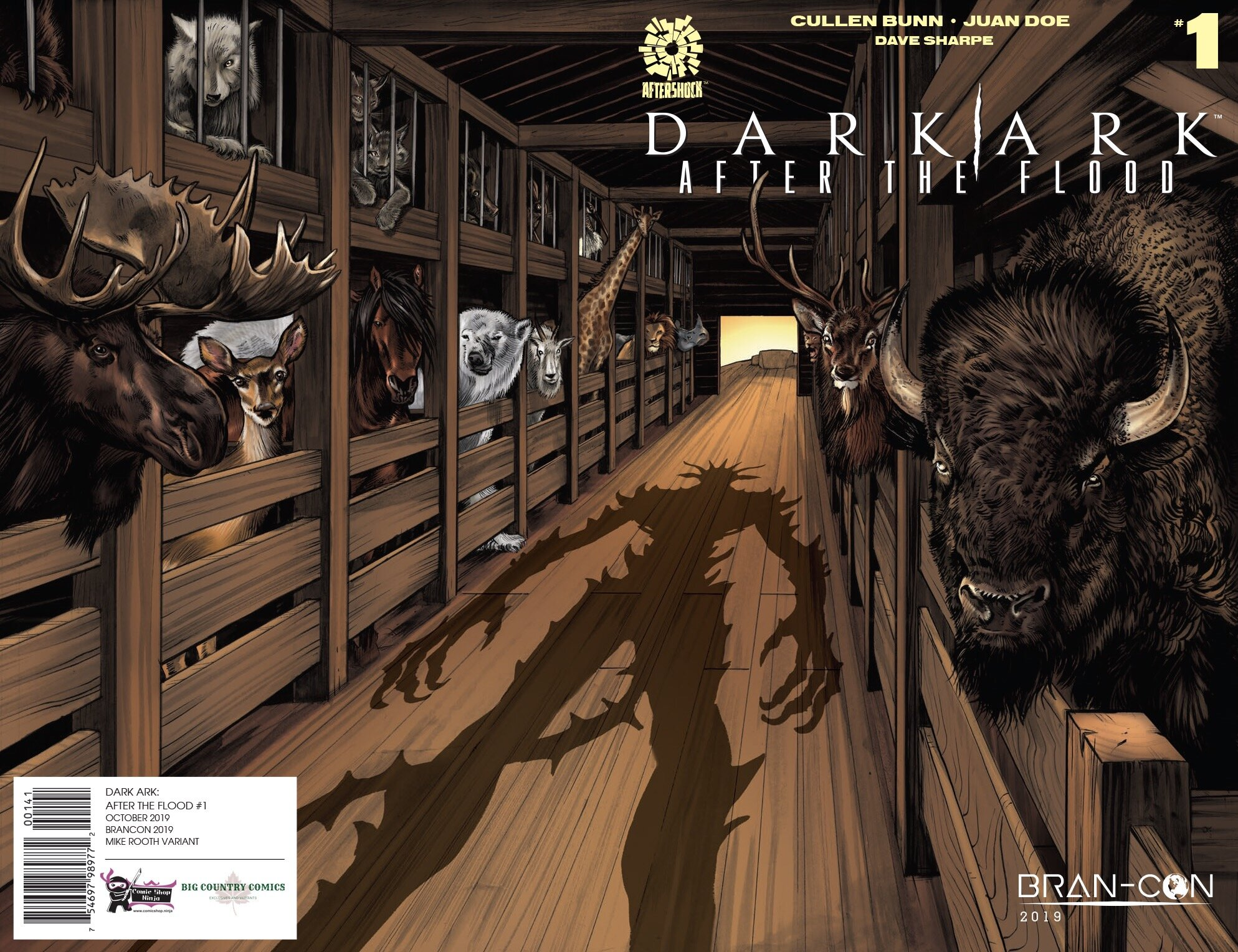 DarkArk: After the Flood #1 variant, Aftershock Comics