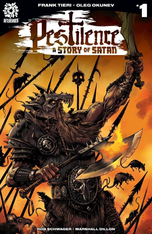 Pestilence Story of Satan #1 B cover, Aftershock Comics