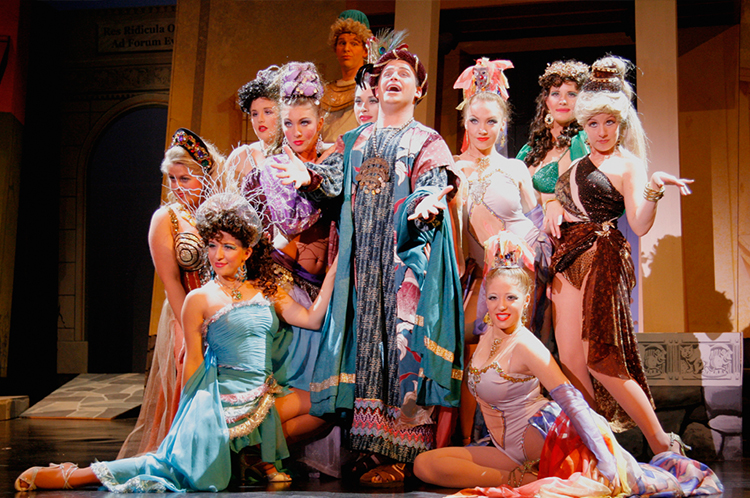 A Funny Thing Happened on the Way to the Forum   by Stephen Sondheim, Burt Shevelove & Larry Gelbart