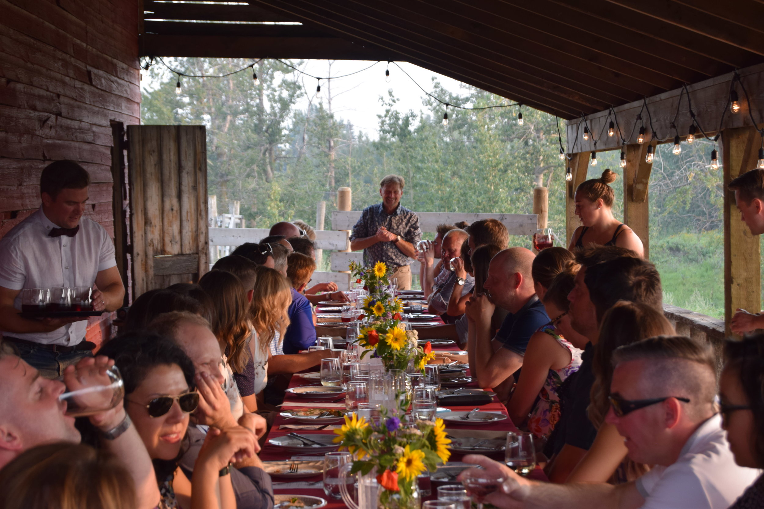 Elk & Bison Farm to Table Dinner August 8