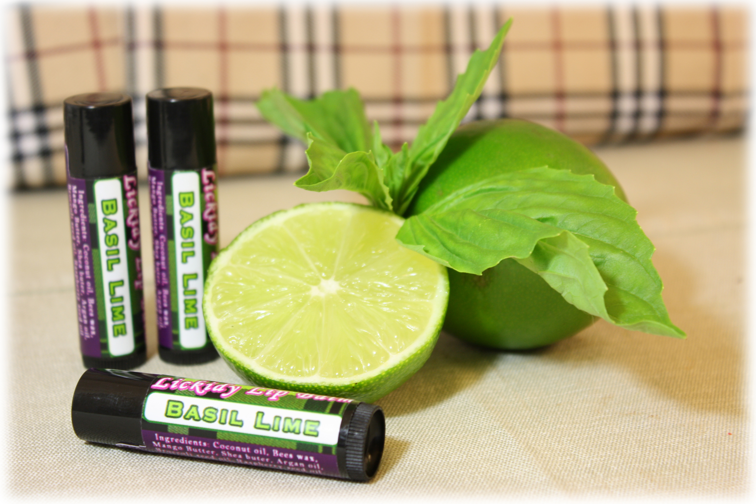 Basil Lime Lip Balm