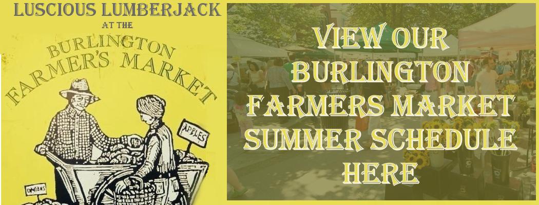 Burlington Farmers Market Banner