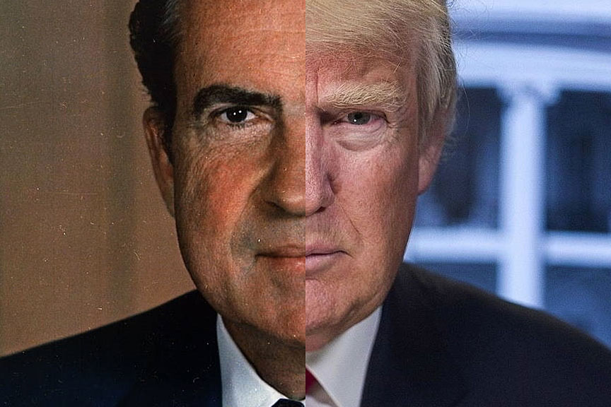 From Nixon to Trump: 1968–2018.