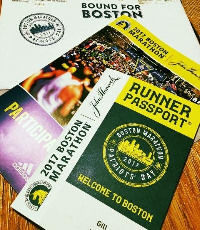 Boston Marathon Runner Passport