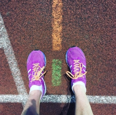 track tuesday runner adidas adios adiero