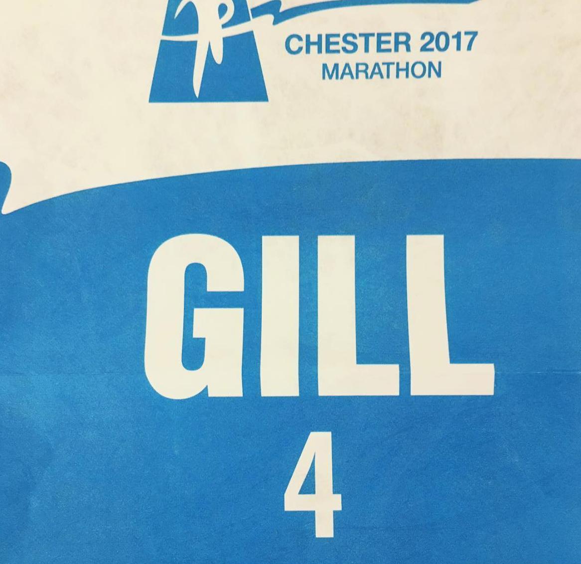 Chester Marathon Elite Bib
