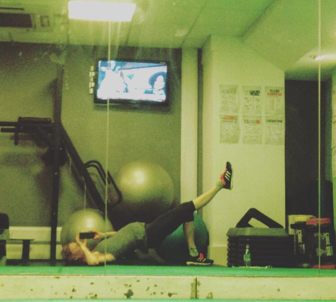 Strength training core gym