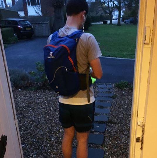 runcommute salomon trail 20 rucksack
