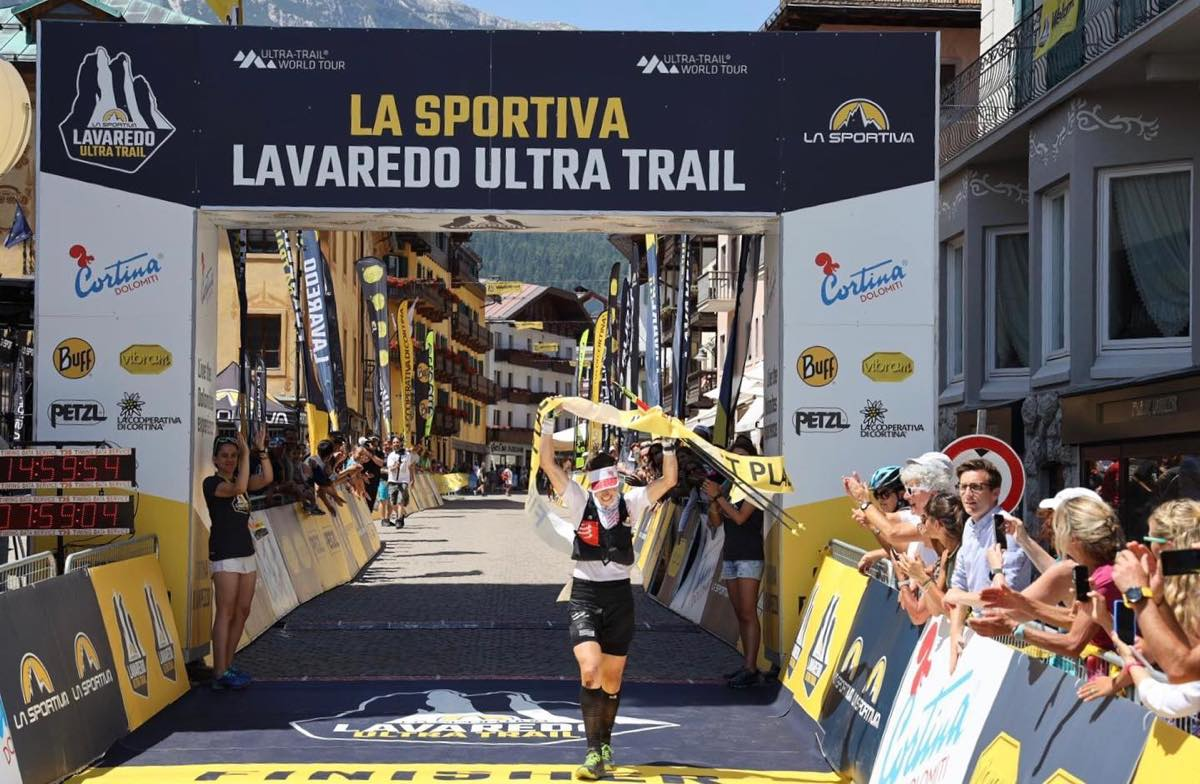 Kathrin Götz, 2019 Lavaredo Ultra Trail champion. Photo: Lavaredo Ultra Trail