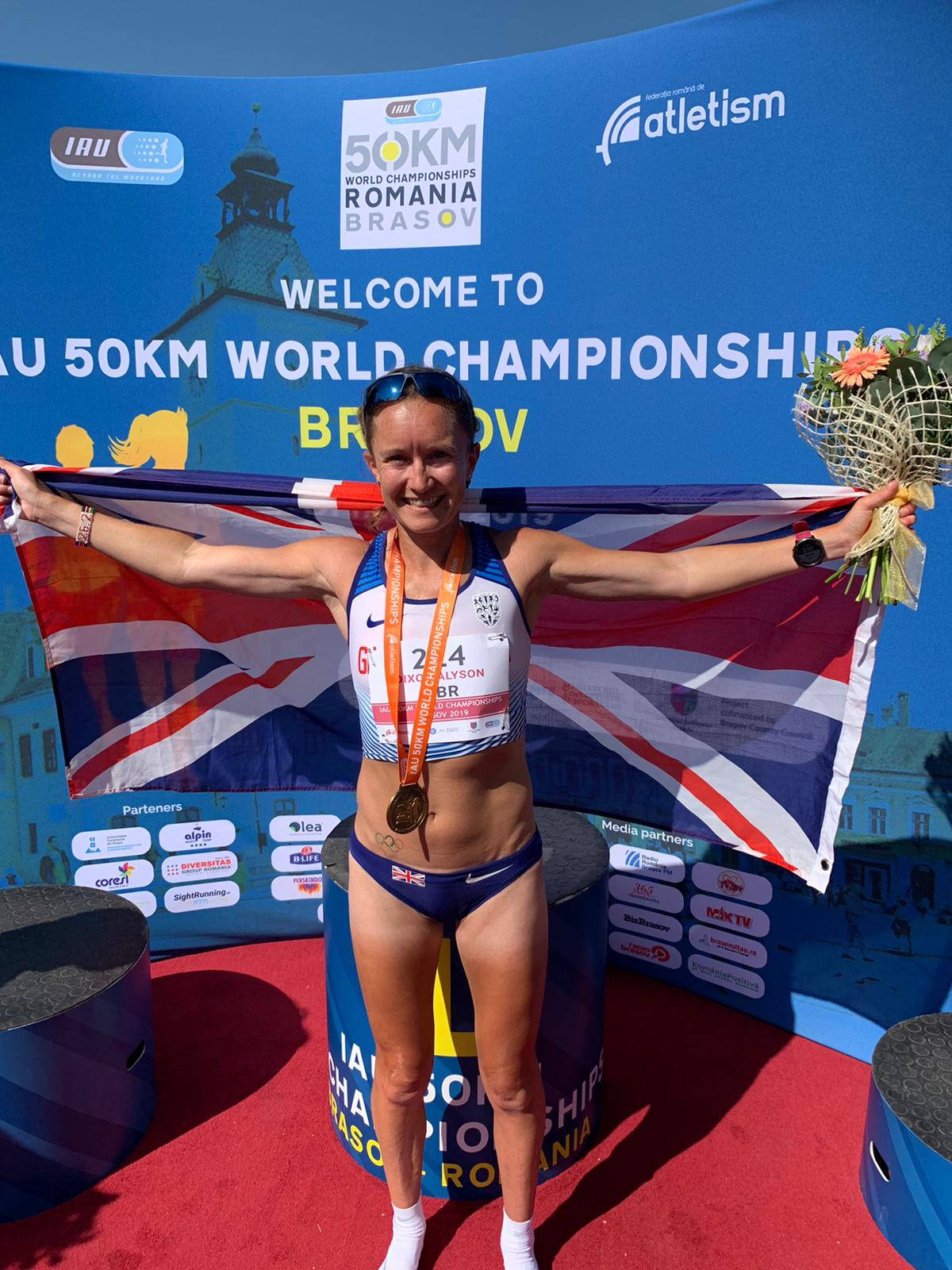 Aly Dixon 50k World Champion