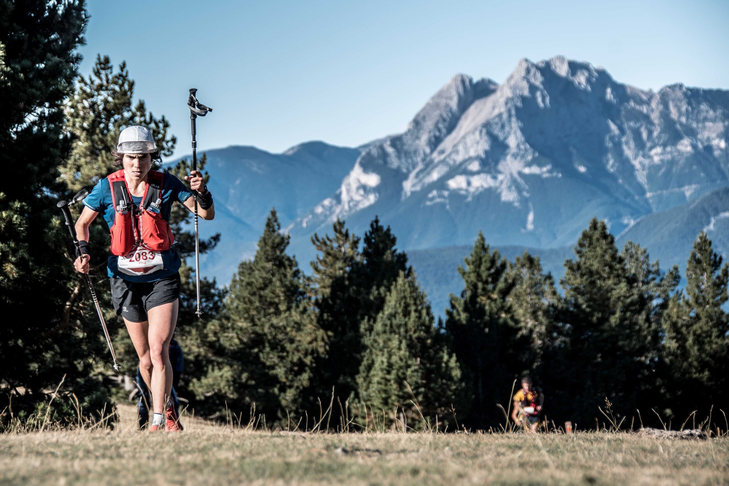 Ainhoa Sanz on her way to victory at Sky Pirineu. Photo by: Roger Salanova