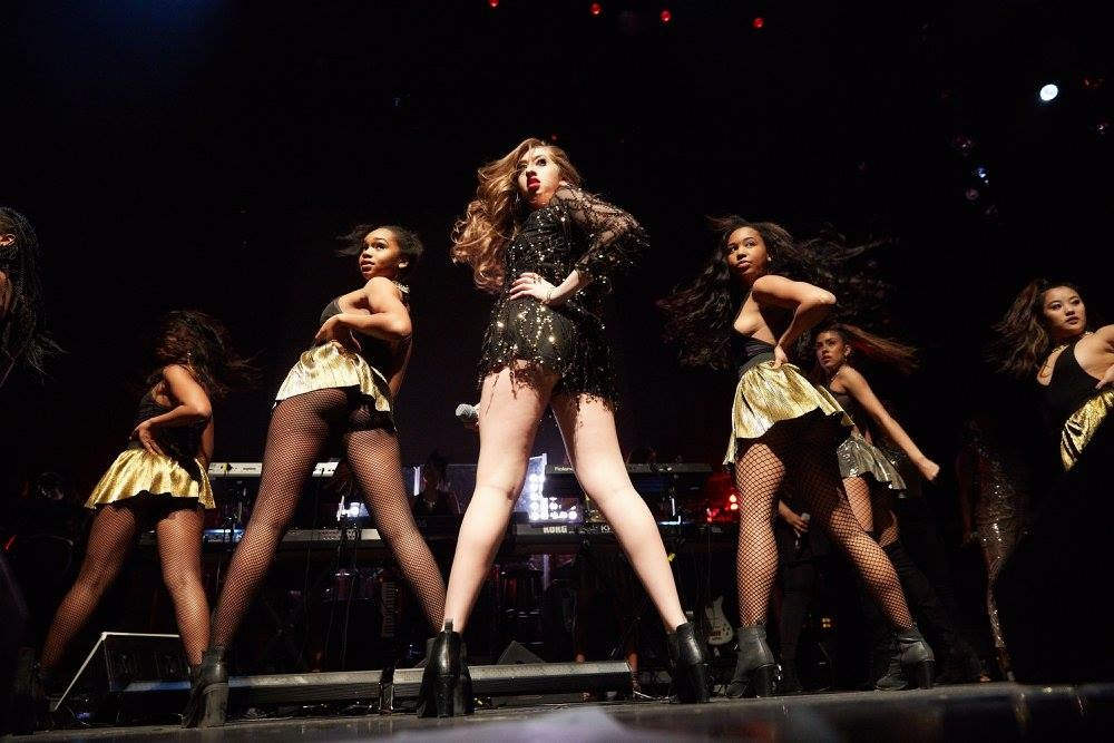 Crazy In Love Beyonce Show Pic.JPG