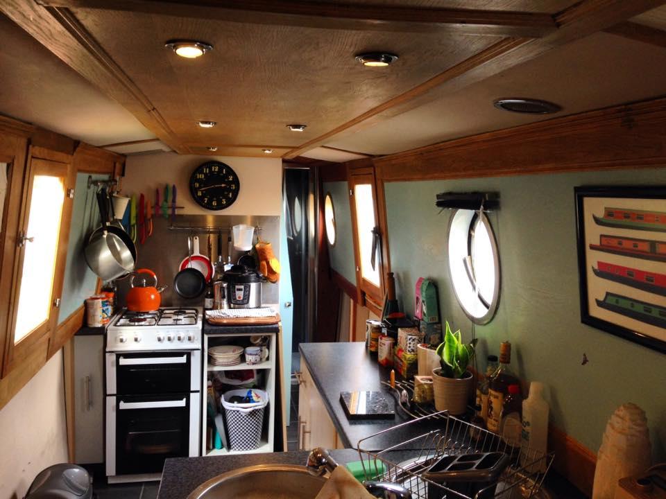 Boaty kitchen! -