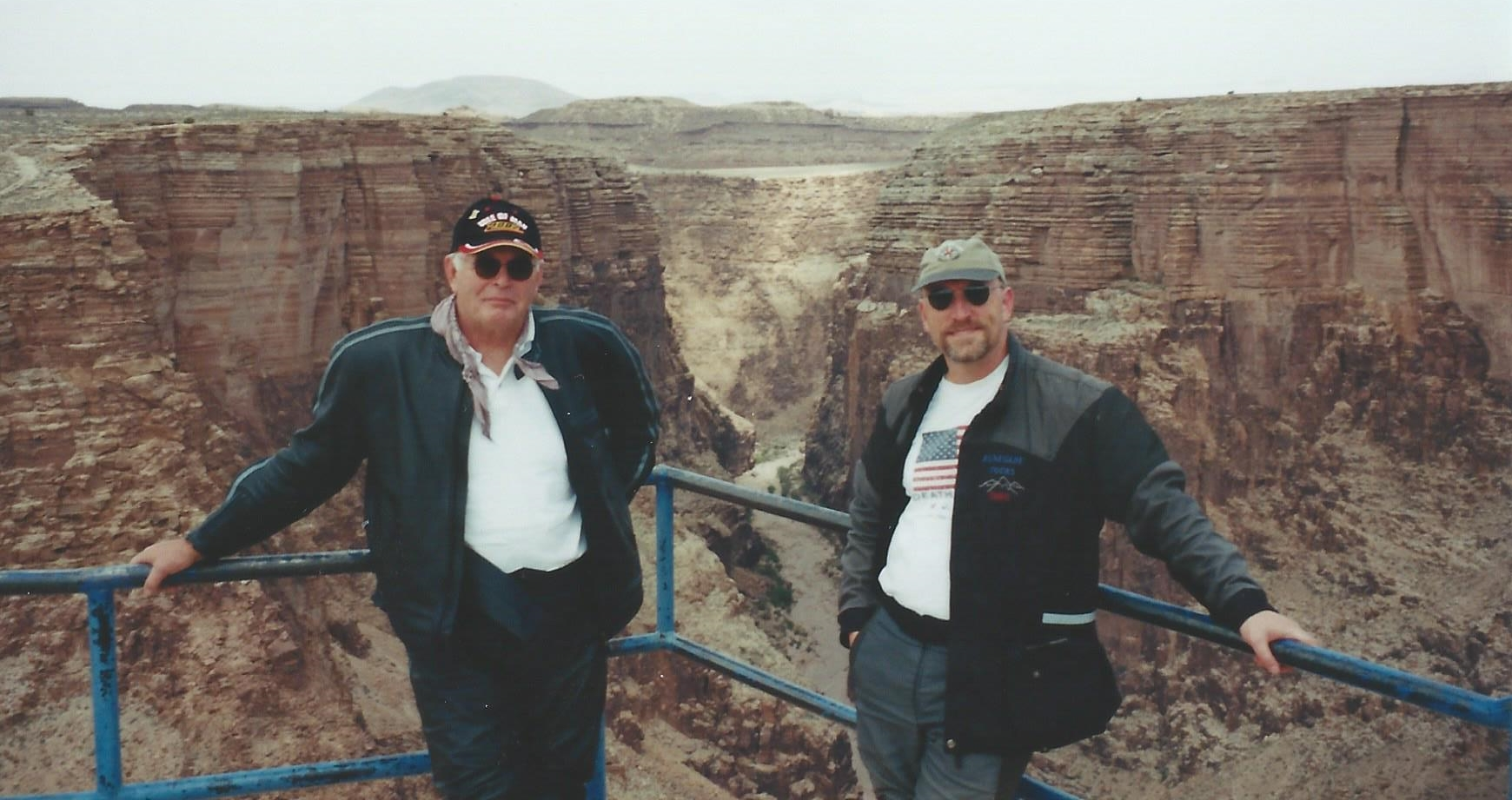 Michael and Chris Little Colorado River Gorge.jpg