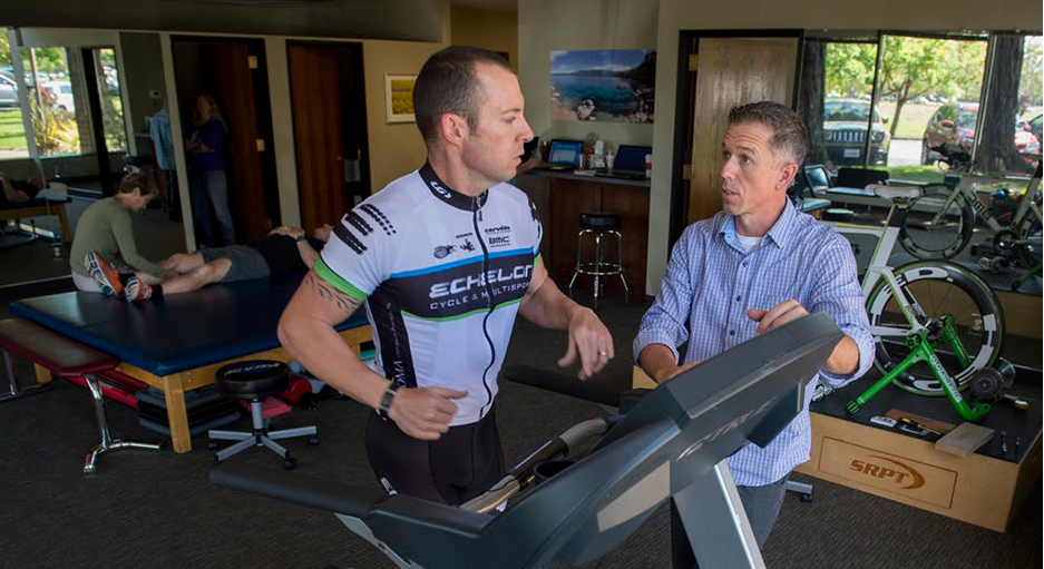 Running analysis with Santa Rosa Physical Therapy