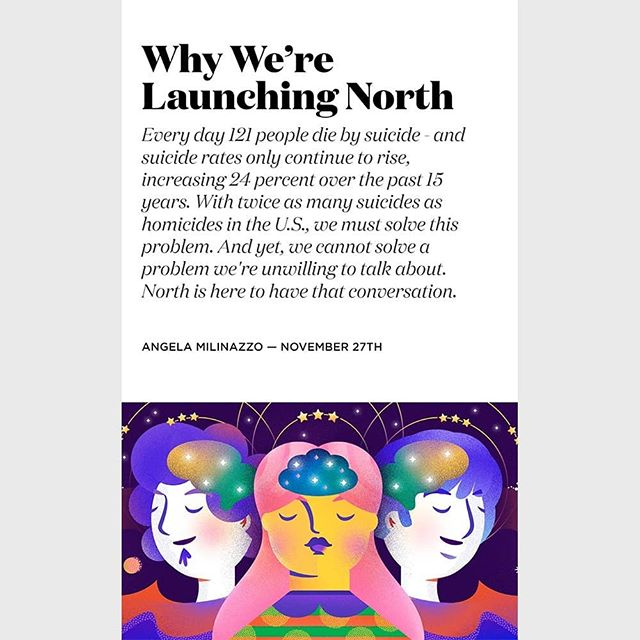 On of my Illustrations for North Magazine.  #illustration #behavioralhealth #digitalart #draweveryday #mentalhealth
