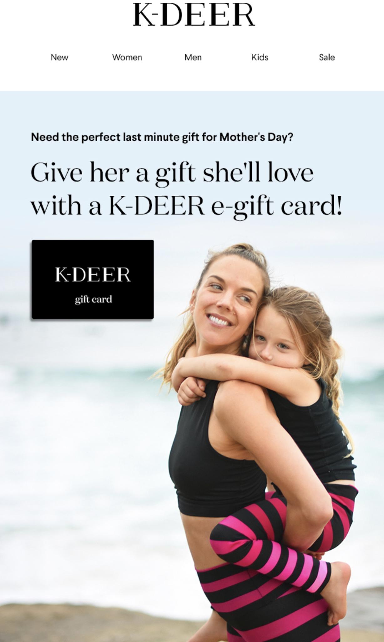 K-Deer Leggings - Mother's Day photoshoot for K-Deer