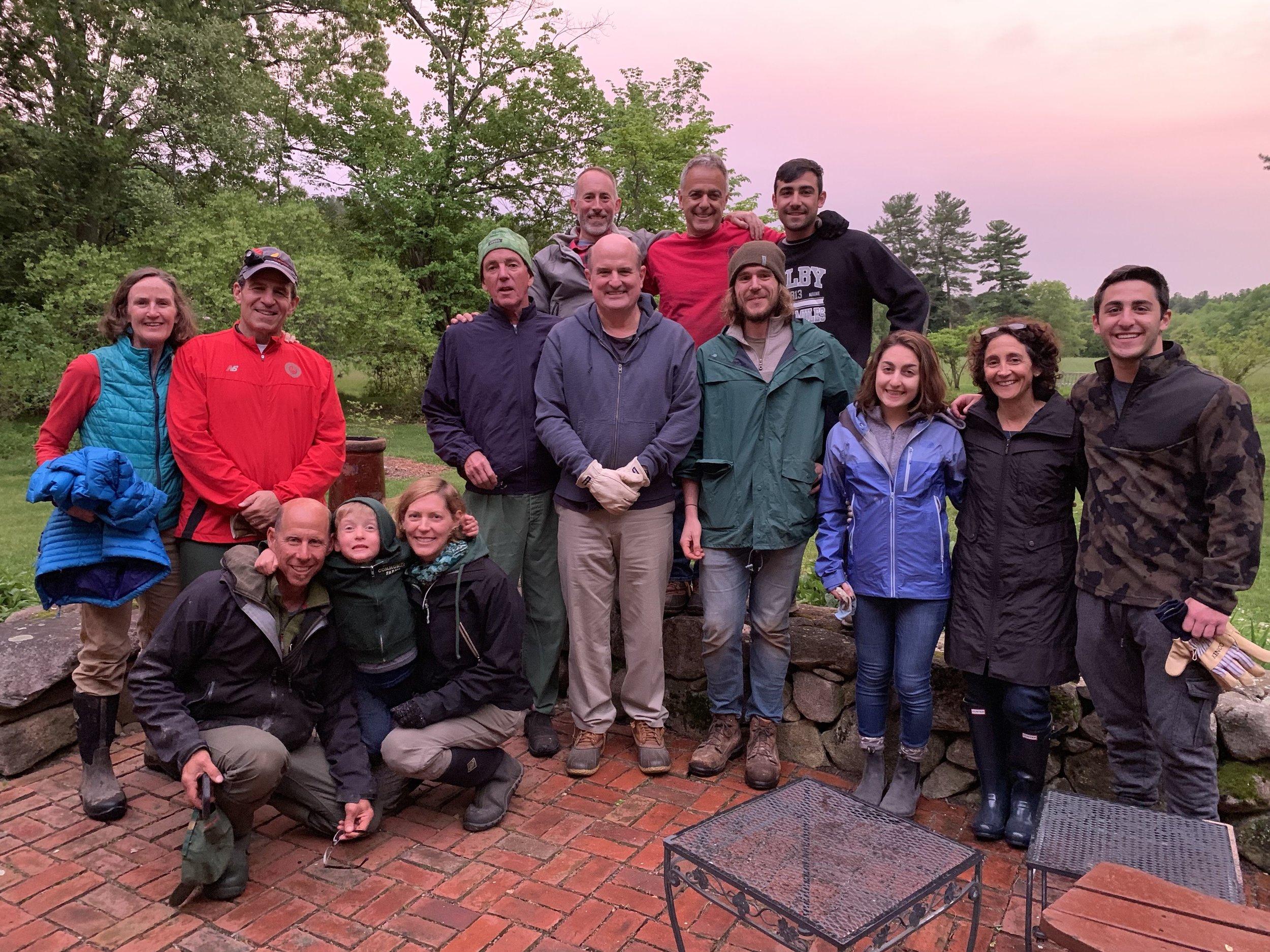First Chicken Catching 2019 Crew!