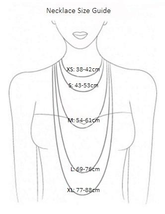 Necklace SIze Guide Klimbim