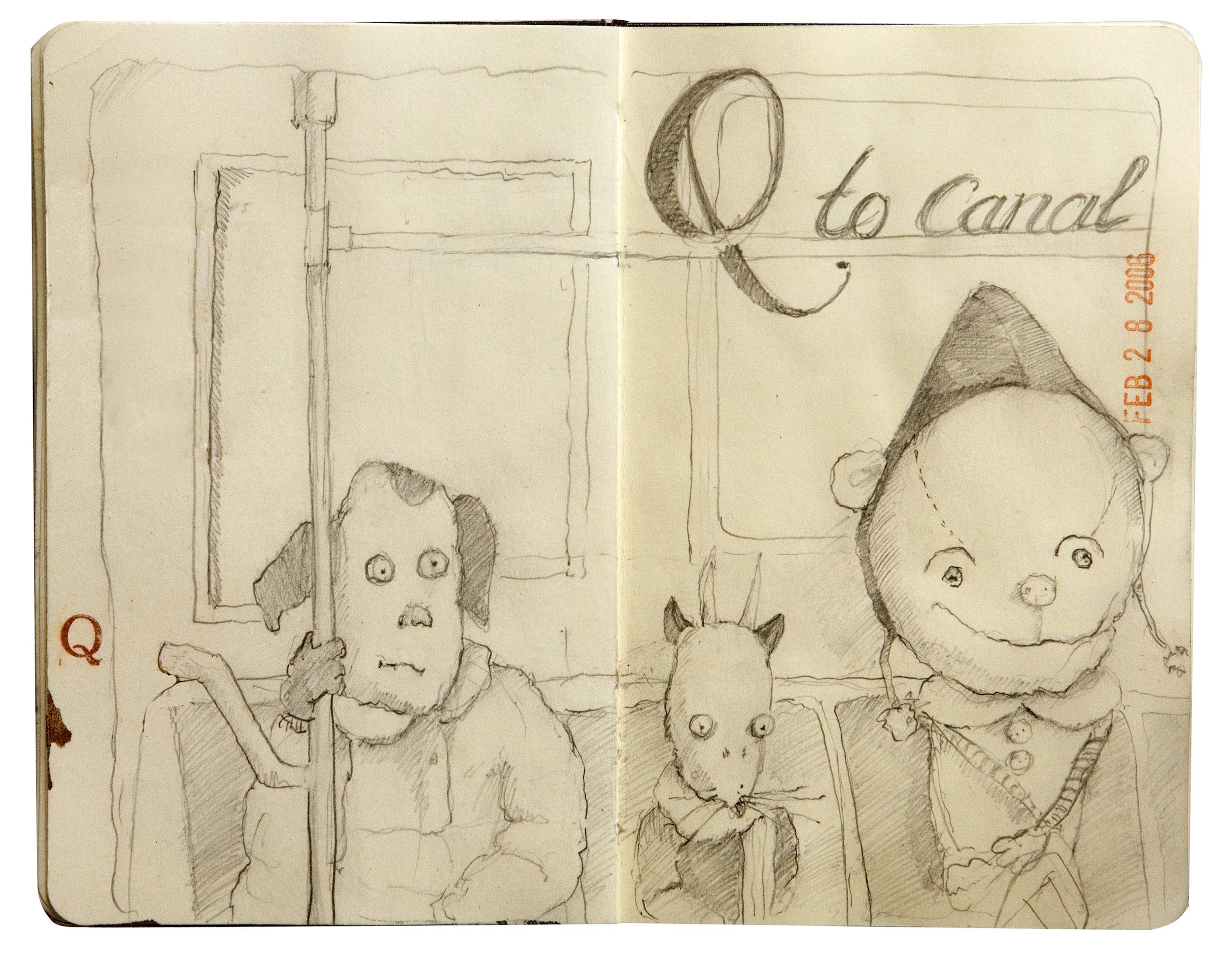 Q Train Commuters