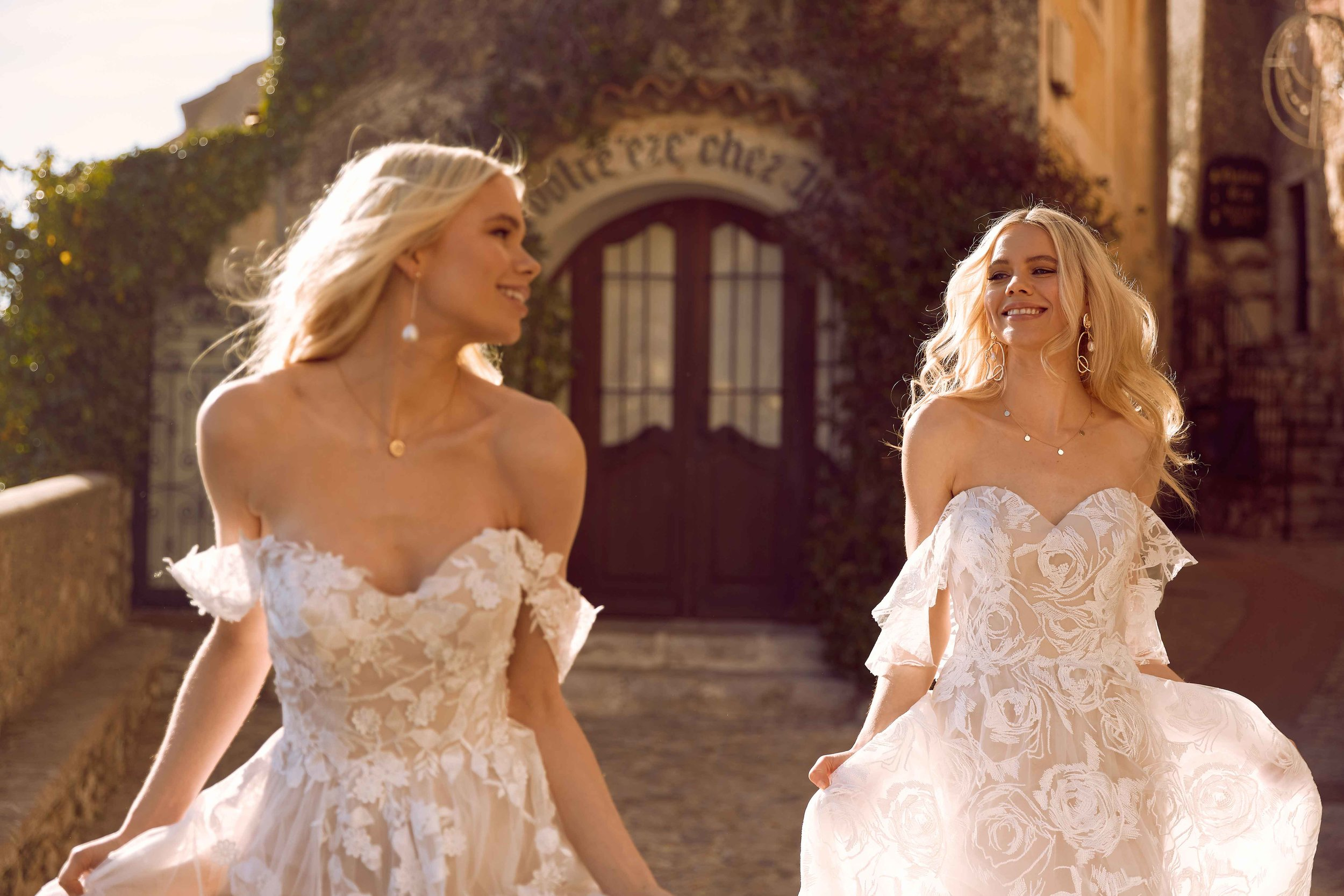 RIVIERA CAMPAIGN FOR MADI LANE BRIDAL SHOT IN SOUTH OF FRANCE