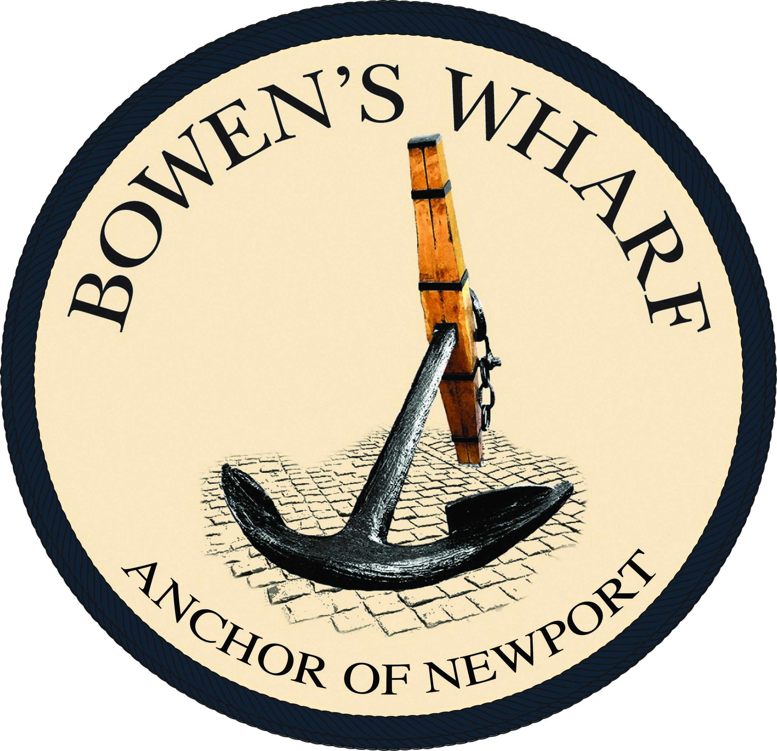 BW CMYK circle Anchor of Newport blackgreen rope.jpg