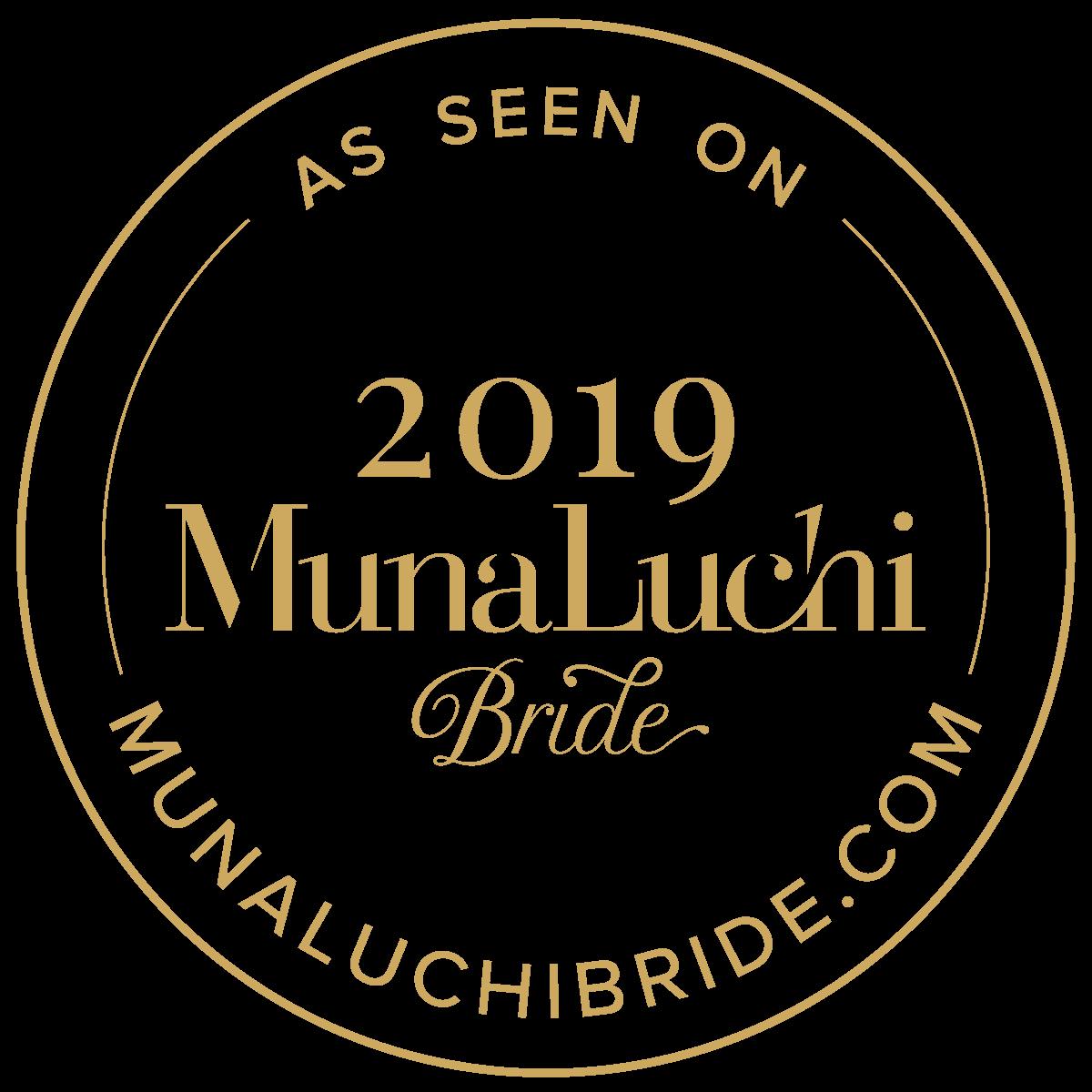 muna luchi bride magazine by