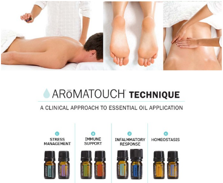AromaTouch Therapy with Reiki Energy Healing