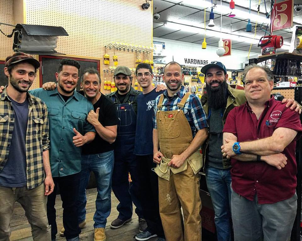 Crest Crew with  Joe Gatto, James 'Murr' Murray, Sal Vulcano and Brian 'Q' Quinn