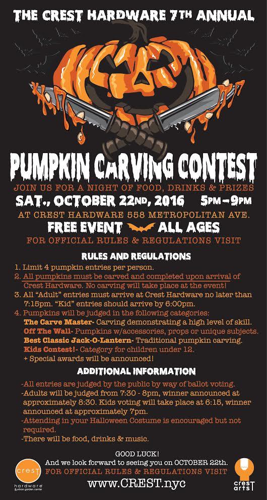 brooklyn pumpkin carving contest