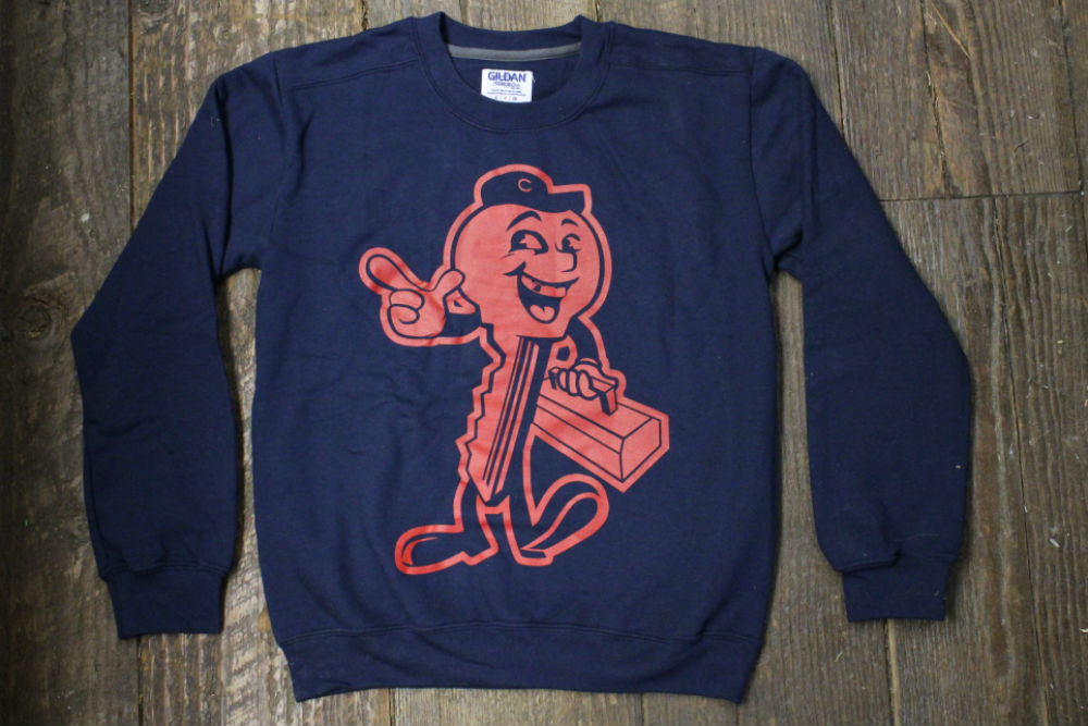 Key Guy Crewneck - Navy