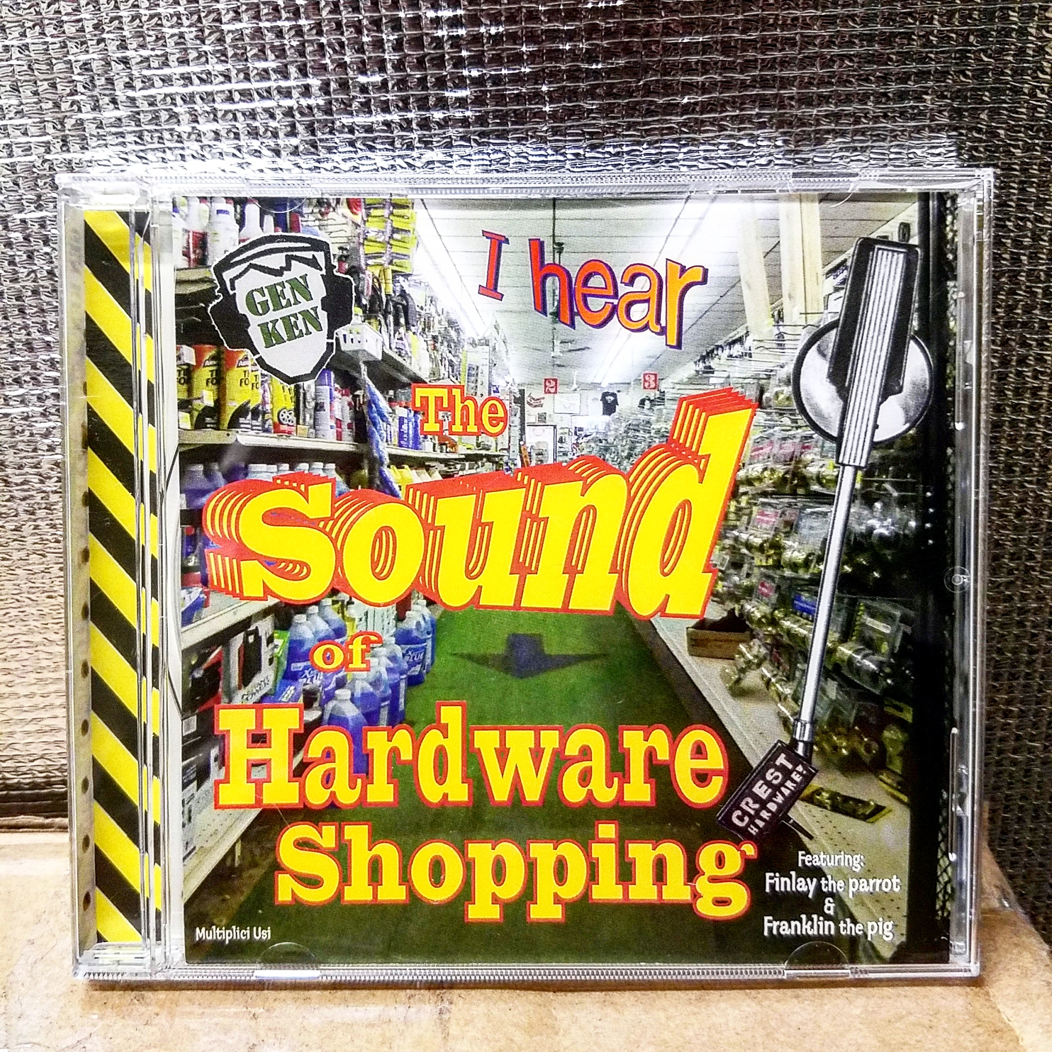 the sound of hardware shopping