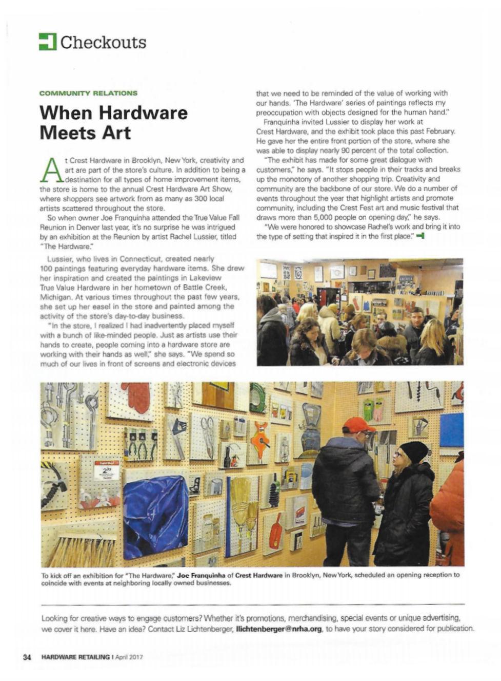 hardware retailing magazine