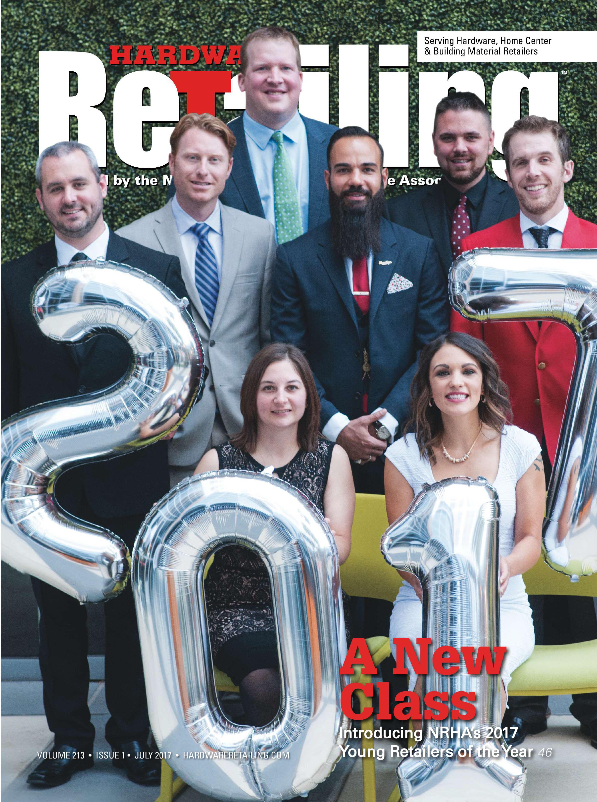 Cover of Hardware Retailing Magazine