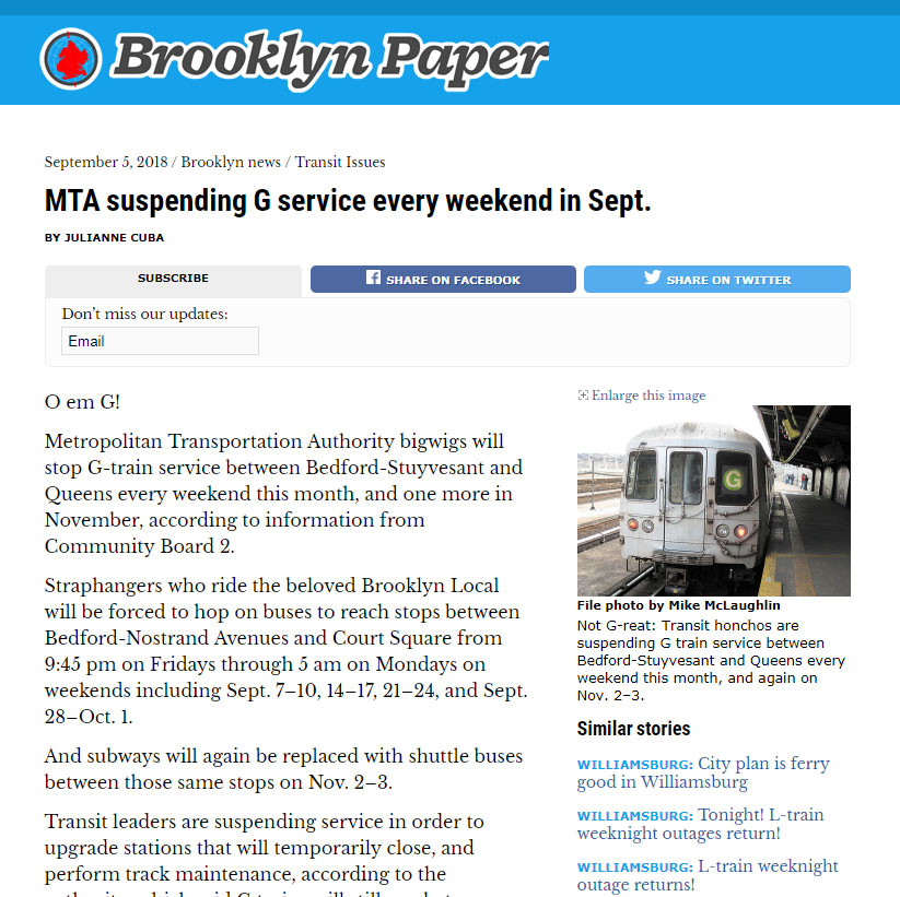 Click image for full article- via Brooklyn Paper