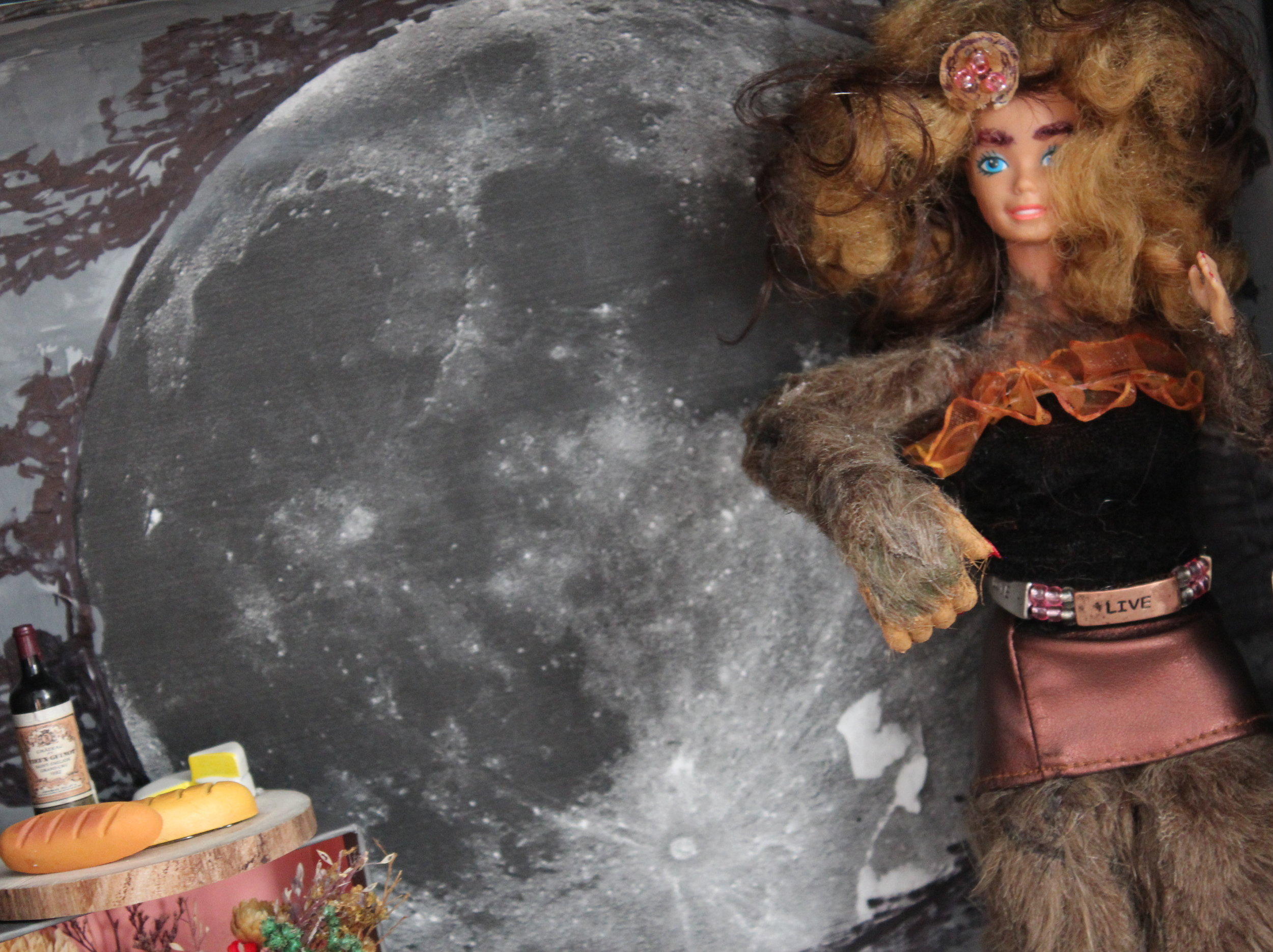 NWM presents WEREWOLF BARBIE with artist Paige Bridges