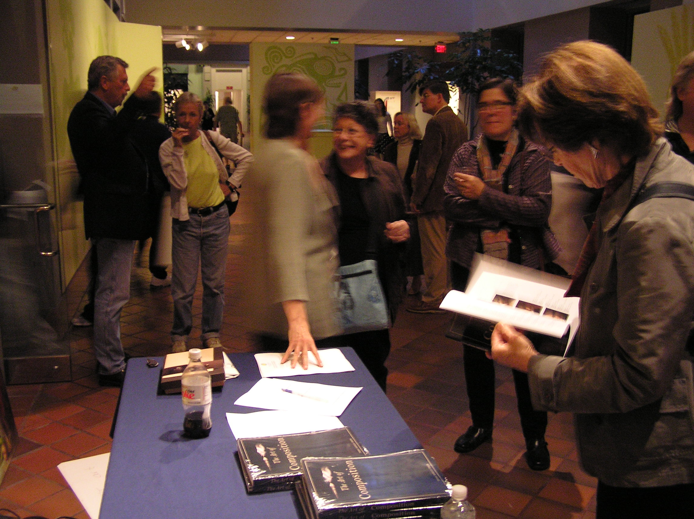 Book signing at The Smithsonian